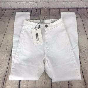NWT Cotton On 91 High Rise Jegging White Jeans